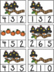 Fall into Math Pre-K - Kindergarten Number Recognition Fal