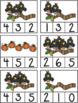 Fall into Math Pre-K - Kindergarten Number Recognition / Number Sense