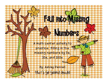 Fall into Missing Numbers