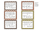 Fall into Multiplication and Division Word Problems Math Glyph