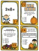 Fall into Multiplication (represent and solve) Task Cards and Game