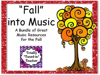 Fall into Music Bundle of resources
