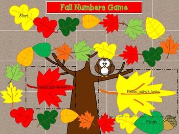 Fall Math Number Sense Games