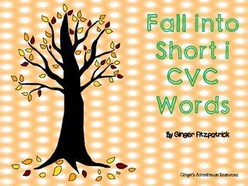 Fall into Short i CVC Words Board Game