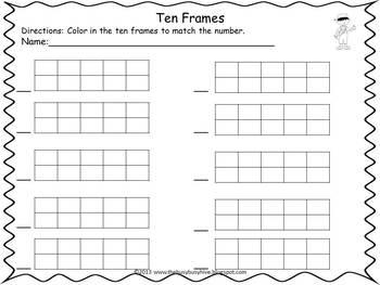 Fall into Ten Frames