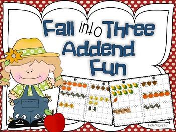 Fall into Three Addend Fun