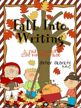 Fall into Writing:  Fall Themed CCSS Writing and Craftvity Pack