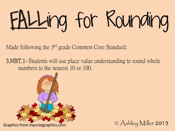 Fall into rounding center