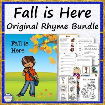 Fall is Here Original Rhyme Bundle