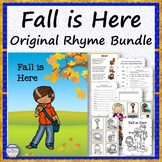 Fall is Here Original Rhyme Bundle