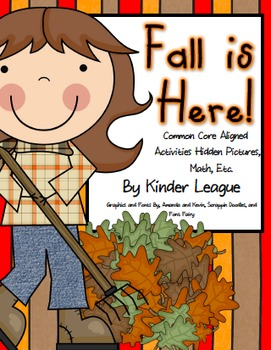 Fall is Here Pack by Kinder League