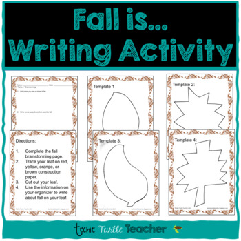 Fall is... Writing Center Activity