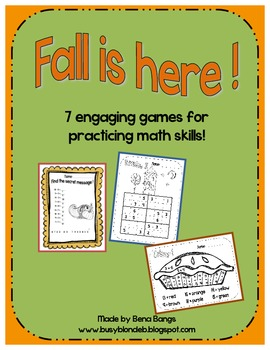 {Fall is here!} 7 Engaging Games for Practicing Math Skills