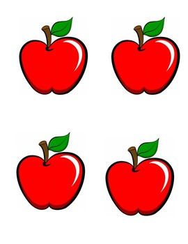 Fall labeling activity - Apple Picking