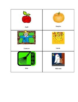 Fall language, writing, and math unit