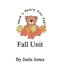 Fall leaves and acorn unit
