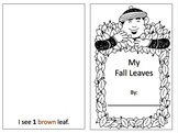 Fall leaves - colouring, numbers, colours