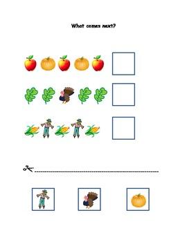 Fall math activities pack