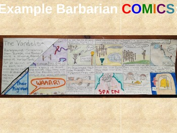 Fall of Roman Empire - Create a Barbarian COMIC!