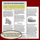 The Fall of the Roman Empire:  Reading Handout, PowerPoint, and 4 Foldables