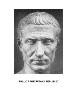 Fall of Roman Republic Problem Solving