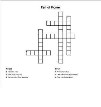 Fall of Rome Content-Based Lesson