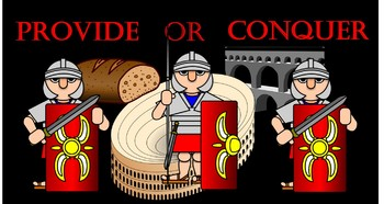 Fall of Rome Decision Making Game
