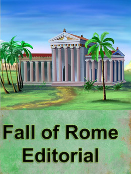Fall of Rome Editorial Lesson Plan