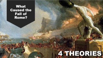 Fall of Rome & Byzantine - 4 Theories - Supplements Crash Course World History