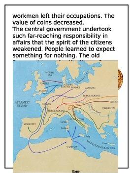 Fall of Rome- History Mystery