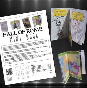 Fall of Rome Mini-Book Project (Roman Empire)