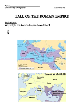 Fall of Rome Notes