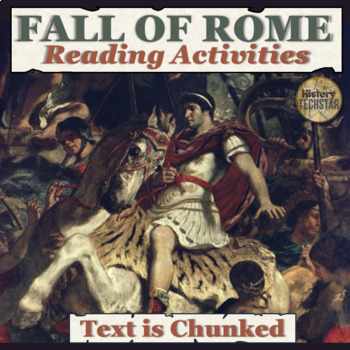 Fall of Rome Reading Activities