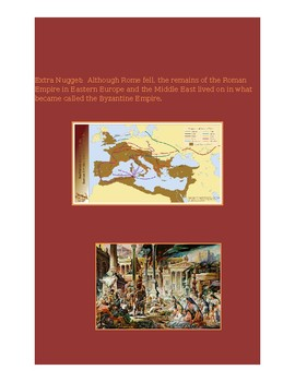 Fall of Rome, Rise of the Papacy Activity