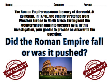 Fall of Rome Stations