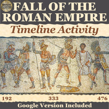 Fall of Rome Timeline Activity