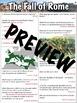 Fall of Rome Worksheet