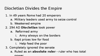 Fall of Western Roman Empire PPT