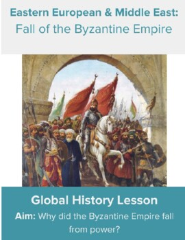 Fall of the Byzantine Empire DBQ