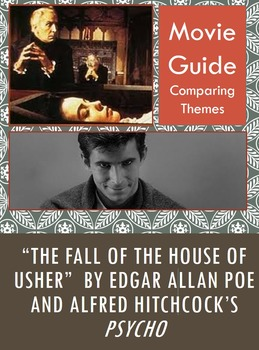 Fall of the House of Usher and Hitchcock's Psycho Movie Th
