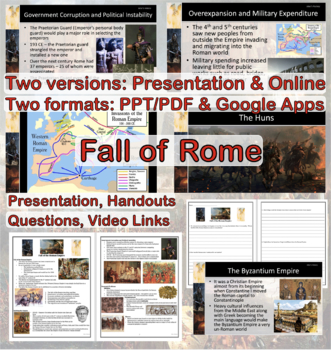 Ancient Rome: Fall of the Roman Empire