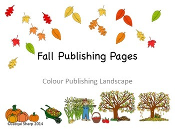 Fall or Autumn Graphics and Publishing Package