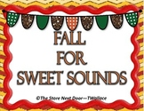Fall or Halloween Beginning Lettter Sounds