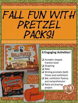Fall or Halloween Math and More with Pretzel Packs