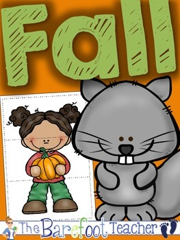 Fall Puzzles {Colorful & Black/White Included}
