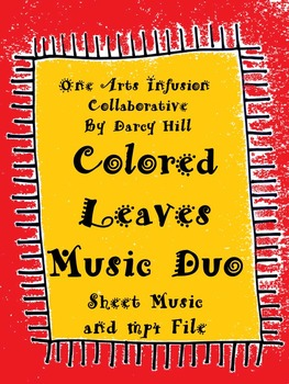 Fall or Thanksgiving: Colored Leaves Music Duo
