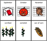 Fall /r/ Articulation & Vocabulary Cards