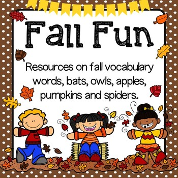 Fall reading and writing printables