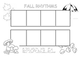 Fall rhythms to play in music class