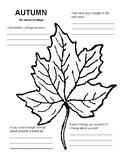 Fall season--writing about change